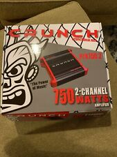 Crunch PZX750.2 750 Watt 2 Channel Car Power Amplifier Class AB 2CH/AMP