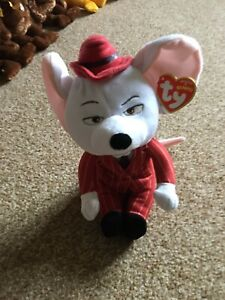 Sing Mike the Mouse Ty Plush Stuffed Animal Toy 2017 Collectible BNWT