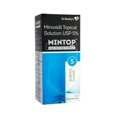 Dr. Reddy Mintop Forte 5% Solution is used in the treatment of hair loss 60 ml
