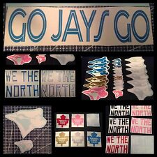 Toronto Blue Jays/Maple Leafs/We The North Decal customizable Decal Pack!