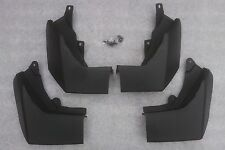 To Fit LR Discovery 4 Mudflaps 09 On OEM Look Complete set of 4 Factory Look