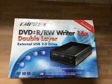 Emprex External dvd/ rewriter Brand New In Box
