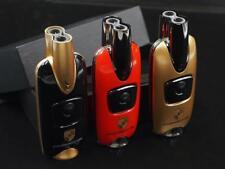 Large Key Fob Designer dual torch Cigar Torch Lighter