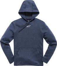 Alpinestars Frontal Navy Blue Pull Over Hoodie Jacket Large Lg