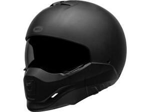 Casque intégral / jet moto BELL Broozer Matte Black