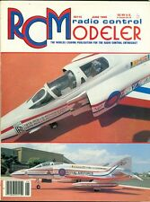 1989 RC Modeler Magazine: Chuck Branch Replica F-4 Phantom