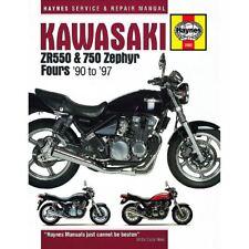 Workshop Manual Kawasaki ZR550 Zephyr, ZR750 Zephyr 1990-1997