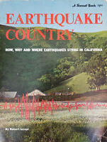 Earthquake Country (1971, Paperback) Sunset Travel Books Vintage