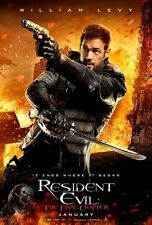 POSTER RESIDENT EVIL 2 3 4 5 6 THE FINAL CHAPTER MILLA JOVOVICH WILLIAM LEVY #1