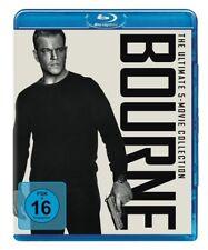 BOURNE-THE ULTIMATE 5-MOVIE-COLLECTION-BLU-RAY  5 BLU-RAY NEU