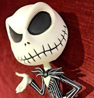 JACK SKELLINGTON BOBBLE HEAD FIGURE FUNKO NIGHTMARE BEFORE CHRISTMAS VGC, BUT!!!