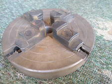 Lathe Jaw Chuck No Makers Mark 34 Id Threaded Center