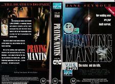 Praying Mantis Jane Seymour Barry Bostwick Frances Fisher Rare Pal Vhs Video