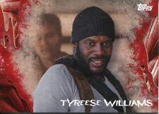 Walking Dead Survival Box Base Card #16 Tyreese Williams