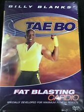 Billy Blanks Tae Bo Fat Blasting Cardio (Dvd,2005) Fitness Martial Arts Workout