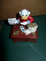Danbury Mint DISNEY Perpetual Calendar Figurine APRIL Scrooge McDuck 4244