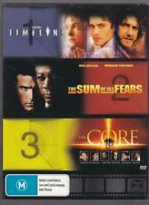 3 Movie Action Pack - Dvd, 3 Disc Box Set - Timeline, The Core,