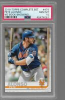 Pete Alonso 2019 Topps Update Complete Set PSA 10 Rookie Card, Invest📈🔥QTY