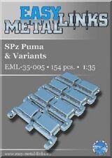 1:35 Scale SPz Puma metal link tracks WW2 German tank upgrade set