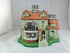 PartyLite Olde World Village Collection #3 Bristol House-Decorative or Train Set