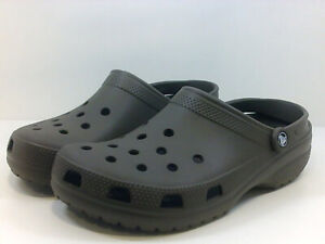 Crocs Mens HRBP Slippers, Brown, Size 11.0 mWfO