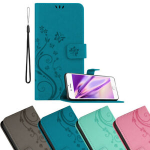 Case for Apple iPhone 6 6S Phone Cover Flower Design Wallet Book