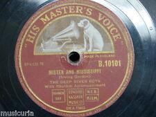 78 Rpm el profundo río chicos Mister & Mississippi/estrellas son la ventana o el cielo