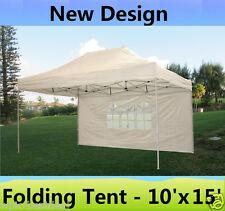 10' x 15' Pop Up Canopy Party Tent Gazebo EZ - White - E Model