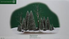 Department 56 Village Accessories Sisal trees Frosted bare-branch trees 14 pc