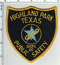 Highland Park Police (Texas) 1st Issue Public Safety Shoulder Patch