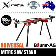 BAUMR-AG Mitre Saw Stand  Bench Universal Adjustable Portable Drop Saw Table
