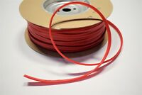Bright Red Marine Vinyl Welt Cord Piping Outdoor Automotive Upholstery BTY