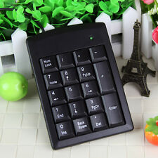PS/2 Mini Number Pad Numpad Numeric Keypad 18 Keys for Laptop Keyboard Replace