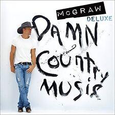 Tim McGraw - Damn Country Music [New Vinyl] Bonus Tracks, Gatefold LP Jacket, 18