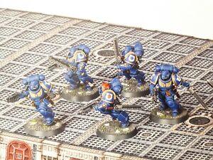 5 Assault Intercessors Indomitus Primaris Space Marines 40.000 Warhammer 40k
