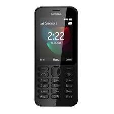 BRAND NEW GENUINE MICROSOFT 2.4 INCH NOKIA 222 SIM FREE SMARTPHONE MOBILE BLACK