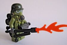 Lego Custom FLAMETROOPER WW2 Minifigure Soldier, Brickforge Accessories