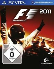 Sony Playstation Vita SV PSVita jeu * f1 2011 * Formule 1 2011 * Formula One 1