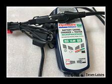 Cable pour Chargeur Optimate Lithium LFP Raccord Rapide Batterie Moto à Chargeur