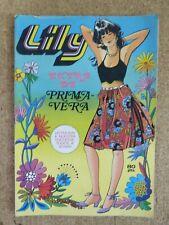 Lily.Extra de Primavera. Editorial Bruguera.1981