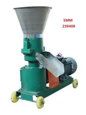 New 5mm Chicken Feed Pellet Mill Machine 220V 3Kw Smooth And Moderate Hardness
