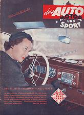 ams 25/1951 auto motor sport/Test: Renault 4 CV 52/Ilse Werner Titelbild/1.12.51