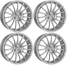 "16"" ALLOY WHEELS CALIBRE RAPIDE SILVER 4X100 16 INCH ALLOYS MULTISPOKE"