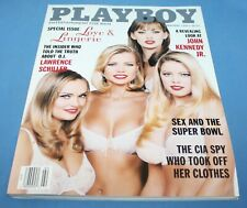 February 1997 Playboy Magazine Playmate Kimber West