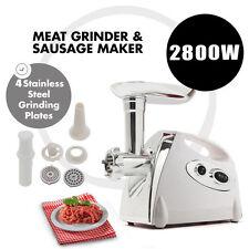 2017 Electric Stainless Steel Meat Grinder Mincer Sausage & Kibbe Maker