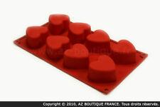 Paderno  Flexipad   Moule flexible en silicone - 8 coeurs