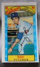 1979 Kellogg's Doug Rau Dodgers Baseball Card