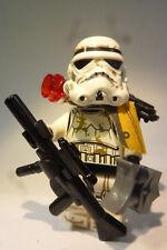 "LEGO® Star Wars™ - Sandtrooper ""Fire Rattlesnake"" + Backpack, Waffen (Custom) #1"