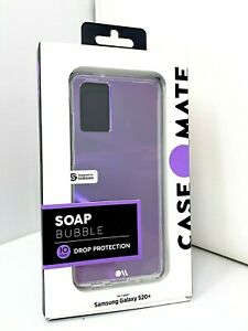 NEW Case-Mate Hybrid Case For Samsung Galaxy S20+ Plus - Soap Bubble Clear