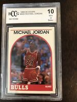 1989-90 Hoops #200 Michael Jordan BCCG 10 BGS PSA